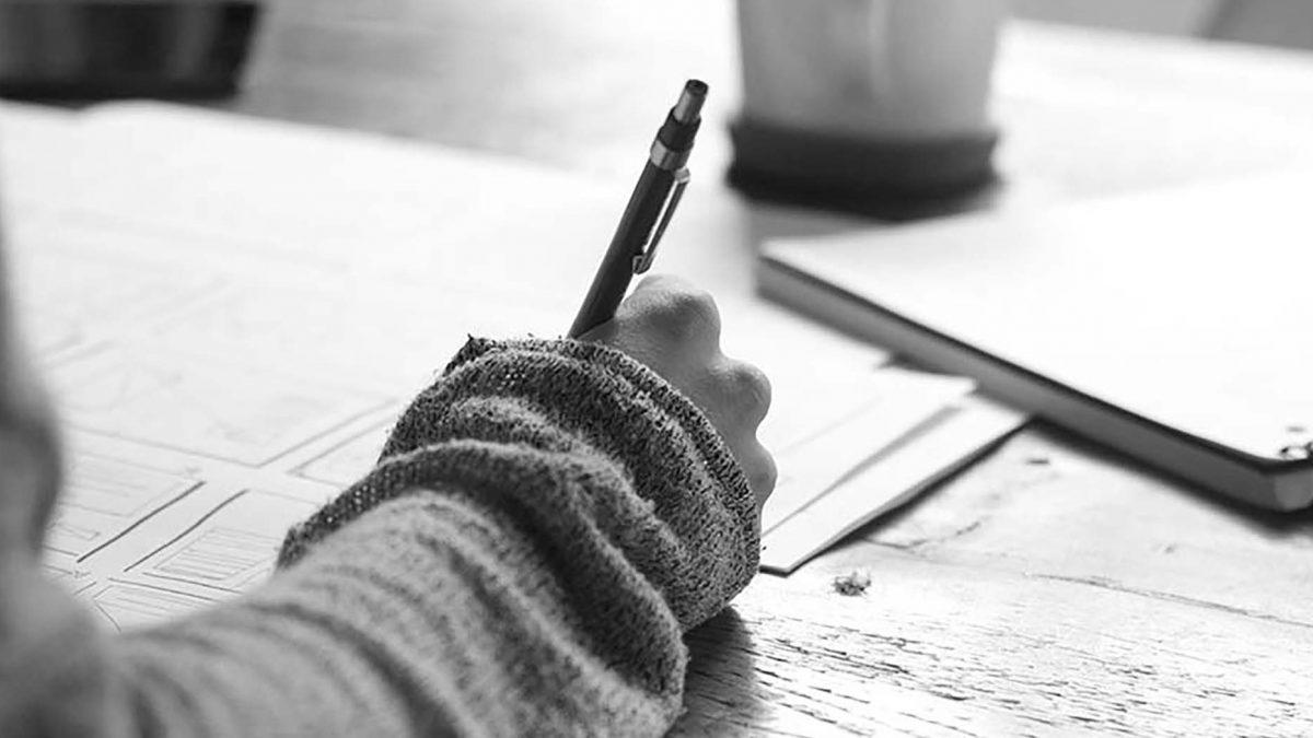 habito de escribir